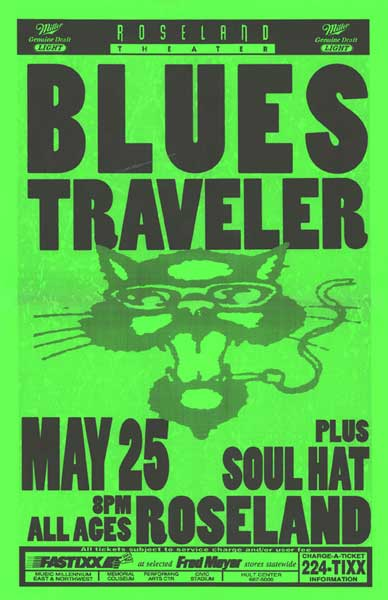 Blues Traveler Lineup In